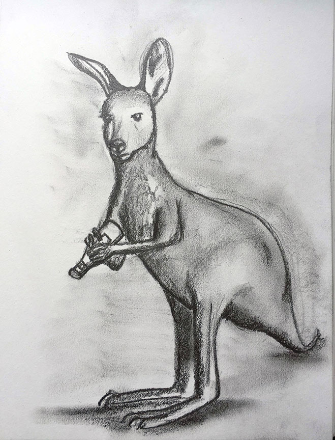 K = Kangaroo and Ketchup