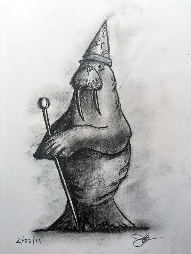 W = Walrus the Wizard
