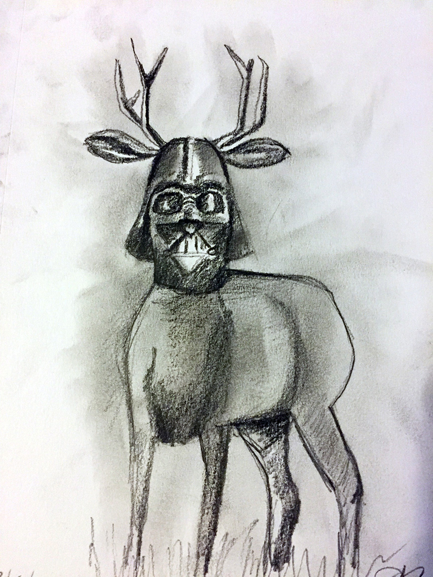 Darth Deer