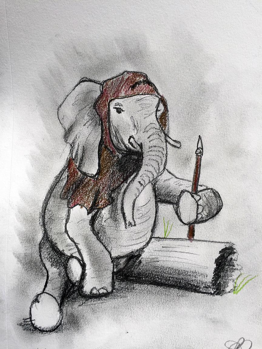 Elephant Ewok