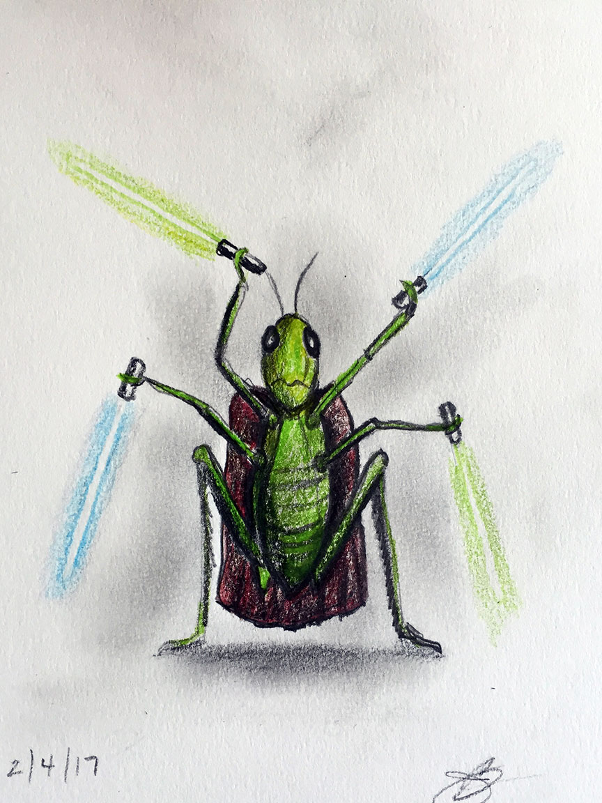 Greivous the Grasshopper