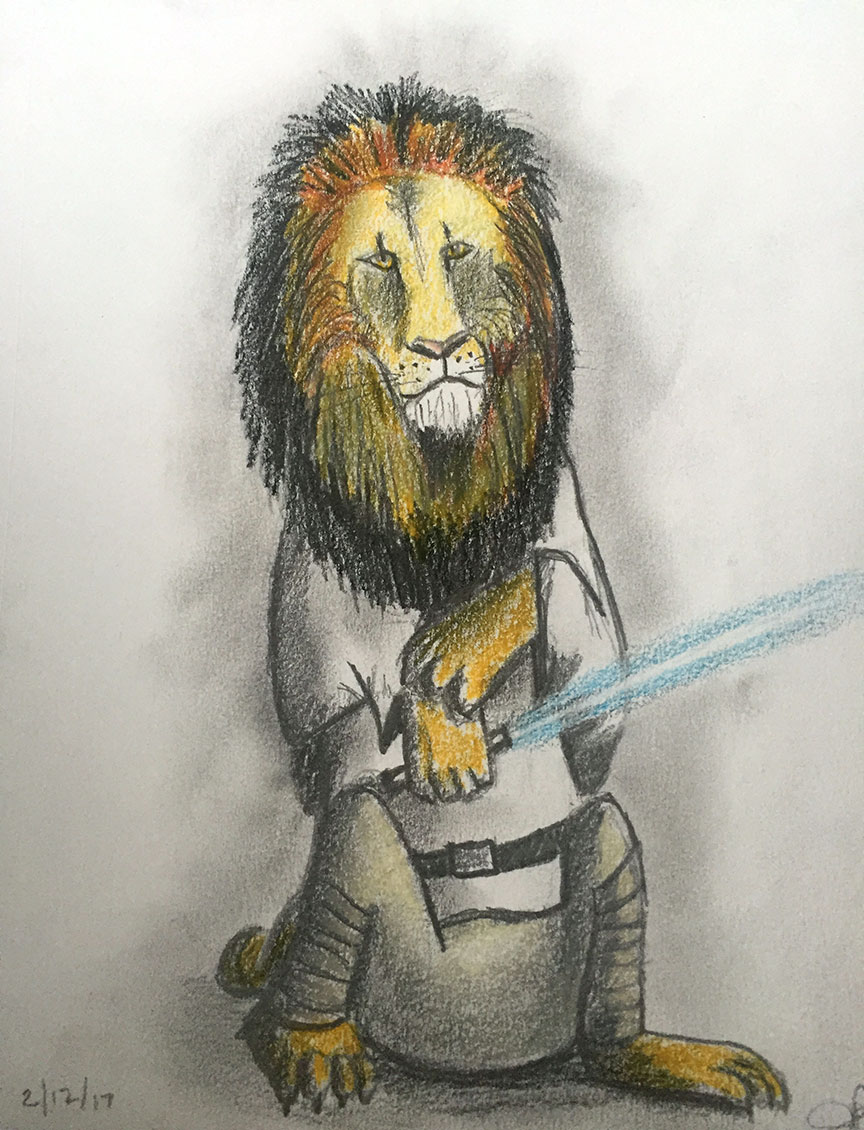Luke the Lion