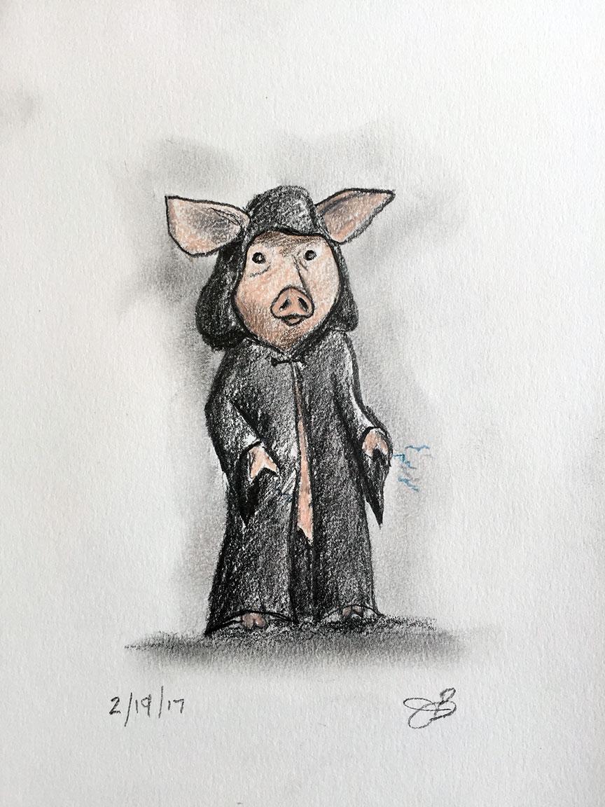 Palpatine Pig
